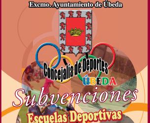 Subvenciones concedidas por el Ayuntamiento a Escuelas Deportivas