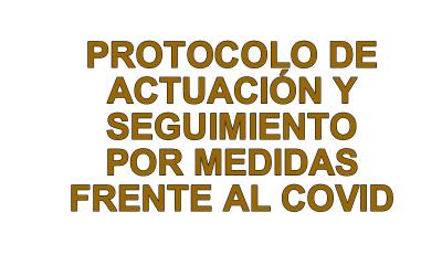 Protocolo a seguir en las instalaciones deportivas por medidas sanitarias